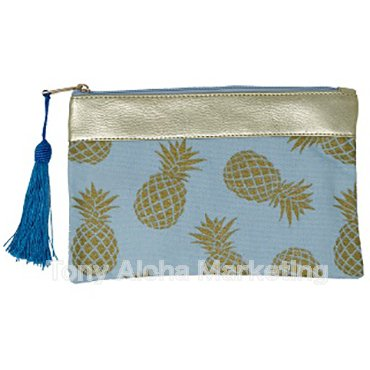Pineapple Pouch Blue