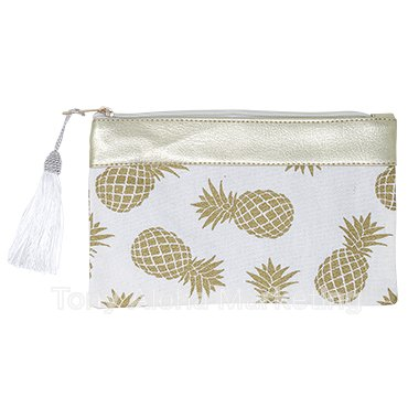 Pineapple Pouch White